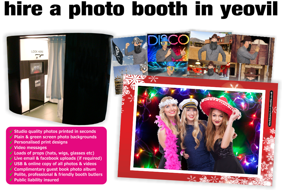 Photobooth & Photo Booth Hire, Yeovil, Somerset