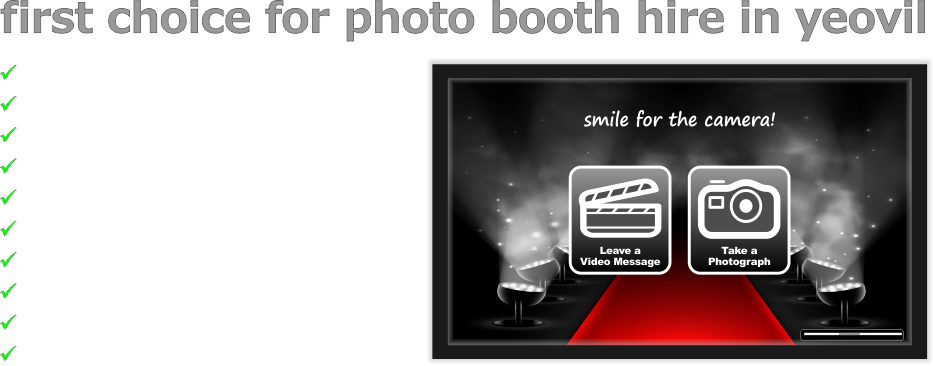 Yeovil Photobooth & Photo Booth Hire, Yeovil, Somerset